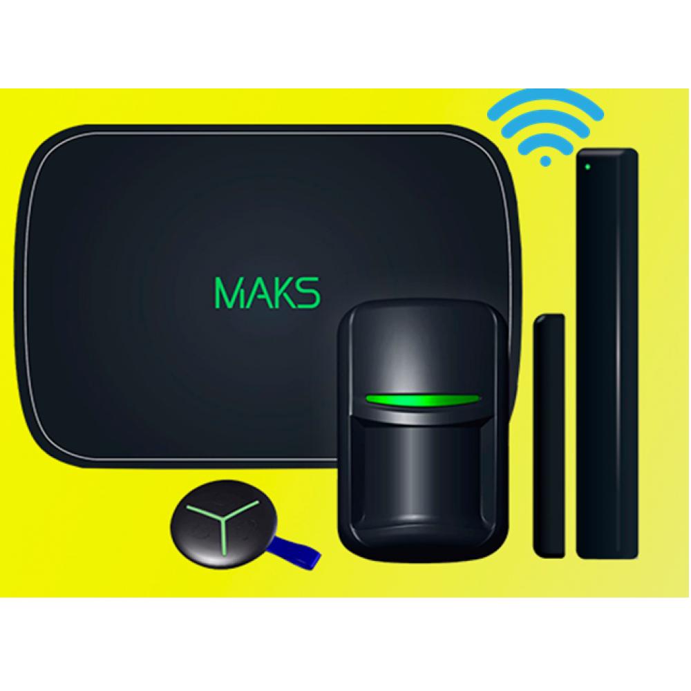 Комплект безпроводової охоронної сигналізації MAKS PRO WiFi S