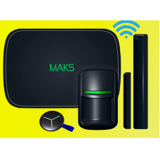 Set of the MAKS PRO WiFi S wireless security system