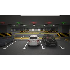 Система динамічної навігації для критих паркінгів