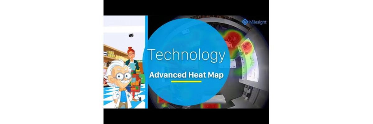 Тепловая карта Milesight: интеллектуальное управление бизнесом