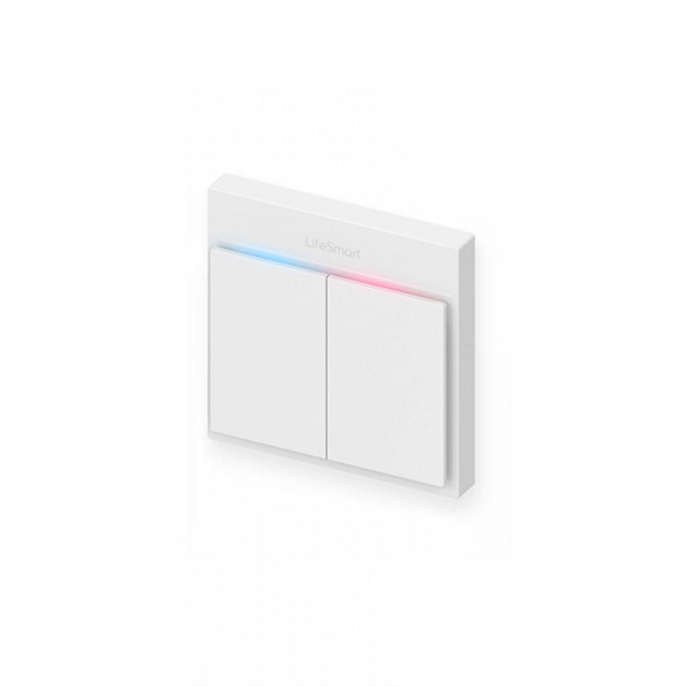 2-клавішний вимикач BLEND LifeSmart Line (LS072WH)