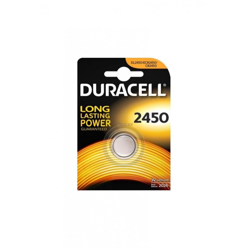 Літійні Duracell CR 2450 / DL 2450