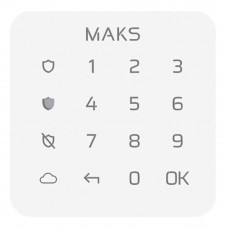 Wireless touch keyboard MAKS Keypad mini