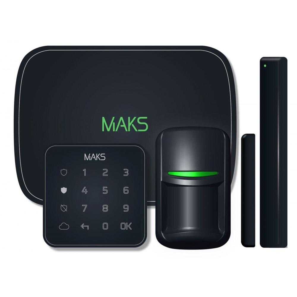 Комплект безпроводової охоронної сигналізації MAKS PRO